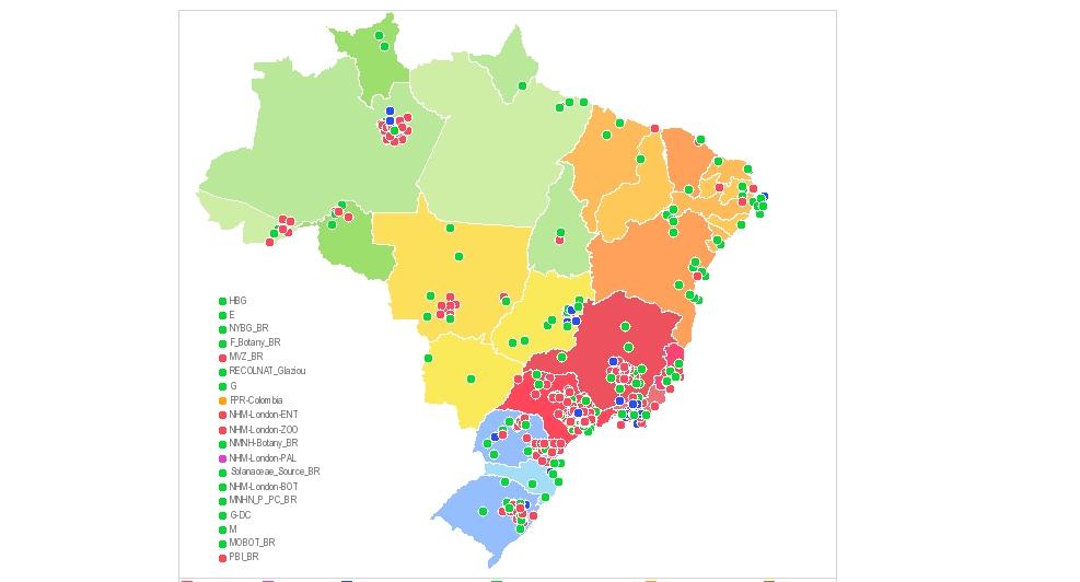 ASSESSING THE BENEFITS OF DATA SHARING: THE EXPERIENCE OF BRAZIL'S VIRTUAL HERBARIUM